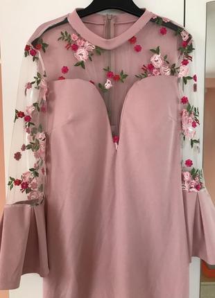 Плаття платье цвети