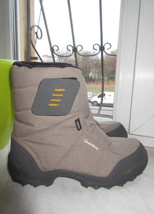 Зимние термо ботинки quechua 42 р