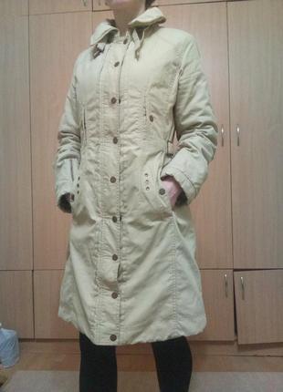 Куртка парка mexx плащ длинная курточка плащик