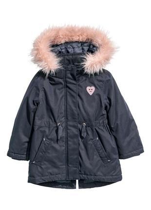 Куртка-парка h&m 8-9л