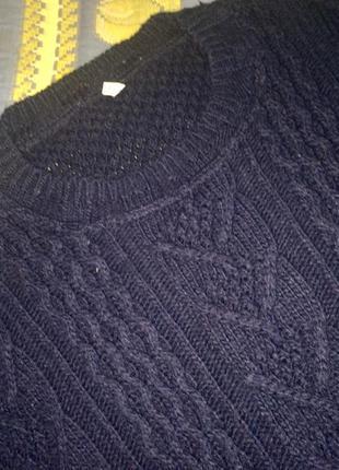 Шерстяная кофта свитер