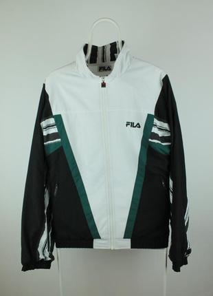 Крутая оригинальная винтажная олимпийка курточка windbreaker fila 90's