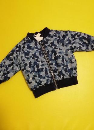 Ветровка h&m унисекс бомбер куртка