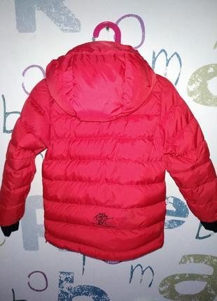 Пуховик bergans tec зима мальчик 3 года (98см)