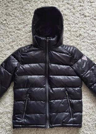 Пуховик / куртка guess (оригинал 100%!) размер м