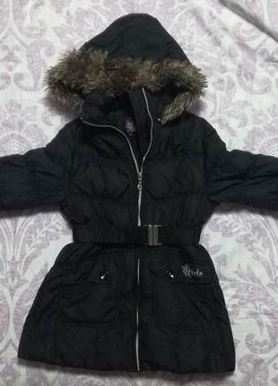 C&a зимняя (пуховик)  куртка для девочек.