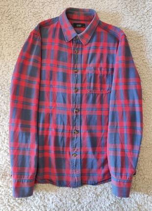 Мужская тёплая рубашка colin's