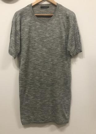 Удлиненная футболка-платье atmosphere p.12/40. #233. 1+1=3🎁