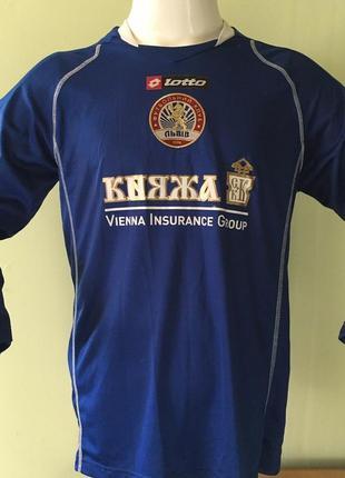 Игровая футбольная матчевая футболка спортивная майка фк львов длинный рукав сезон 2009/10