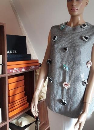 Яркая, нарядная блуза twin set! оригинал!