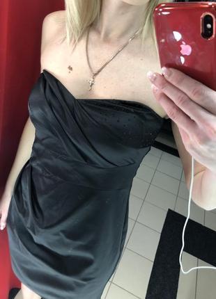 Маленькое черное платье немецкого бренда vera mont (367)