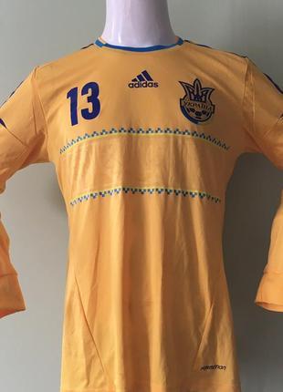 Сборная украины игровая футбольная матчевая футболка майка костюм шорты гетры комплект