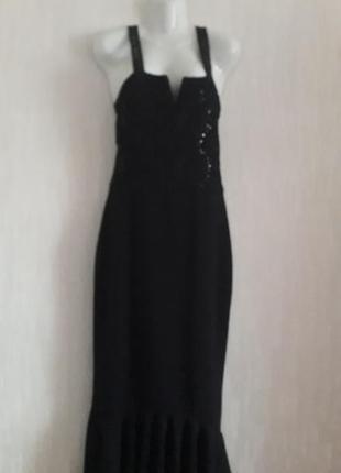 Платье  новое вечернее нарядное 46 размера