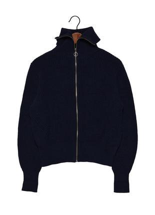 Marks&spencer collection актуальный вязаное худи на молнии, оригинал!