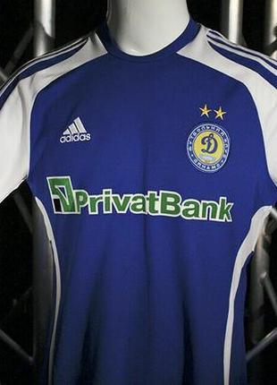 Футбольная игровая матчевая футболка фк динамо киев кубок уефа 2009 спортивная adidas