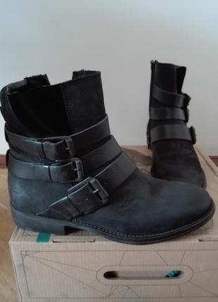 Кожаные ботинки (германия) bull boxer