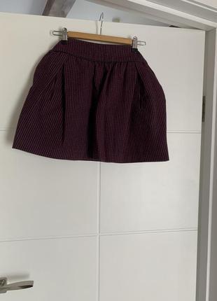 Потрясающая теплая юбка naf naf