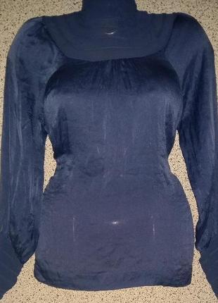 Красивая шелковая блузка warehouse
