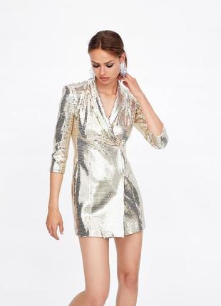 Платье блейзер от zara