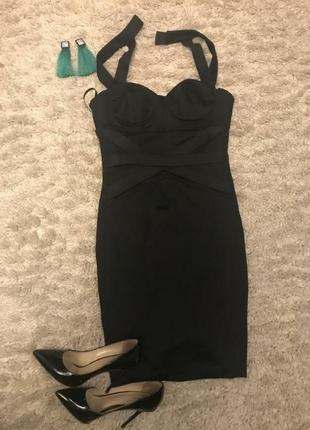 Шикарное вечернее коктейльное платье