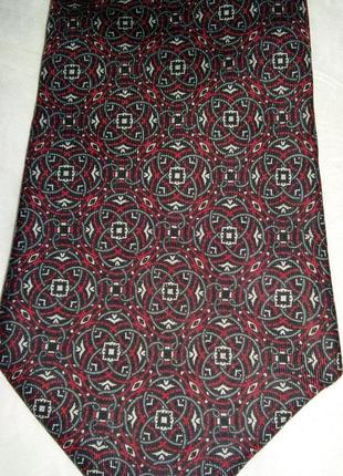 Стильный шелковый галстук enrico battini италия