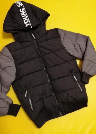 Тёплая куртка h&m