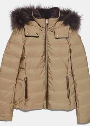 Зимняя курточка zara зара