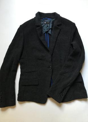 Шерстяной пиджак- блейзер