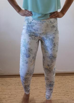 Летние штанишки в цветочек