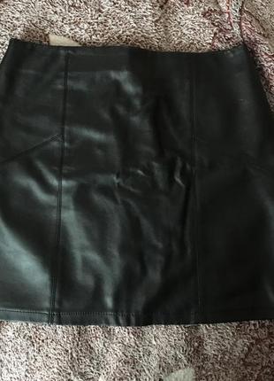 Кожаная юбка asos
