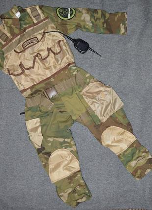 Карнавальный костюм солдат, военный