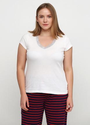 Домашняя футболка, верх от пижамы американского бренда avon, l-5xl, оригинал