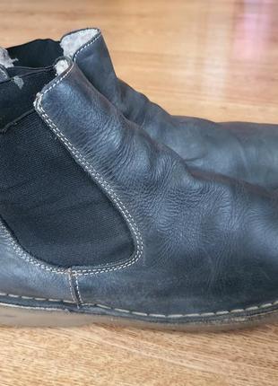 Кожаные ботинки (0390)