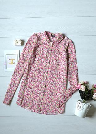 Рубашка в красивий прінт marc o'polo.