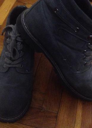 Ботинки нубук осенние 42 размер