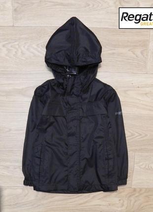 Легкая куртка дождевик regatta 5-6 лет, 110-116 см. состояние новой