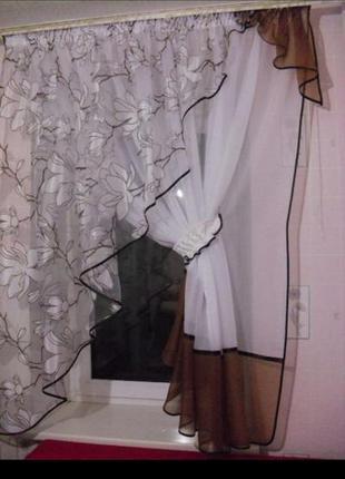 Штора тюль на окно