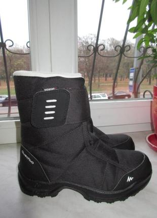 Зимние ботинки quechua 36 р