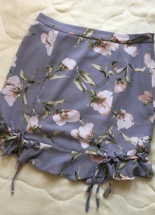 Юбка missguided в цветок