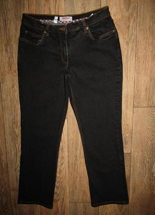 Прямые джинсы р-р л-14 бренд john baner