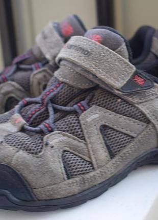 Замшевые полуботинки мокасины каримор туфли треккинговые