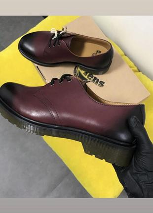Dr martens 1461 cherry red temperley