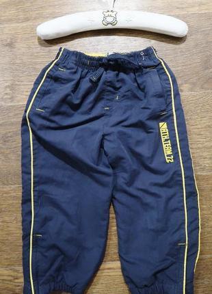 Спортивные штаны на трикотажной подкладке