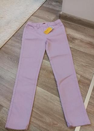 Джеггинсы джинсовые