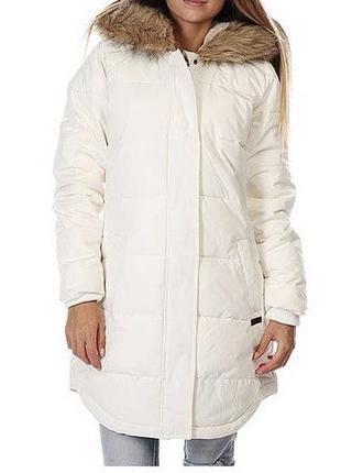 Roxy зимняя женская белая куртка
