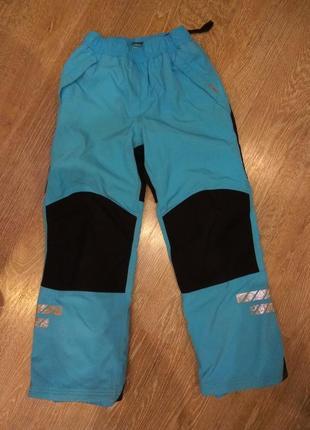 Зимние горнолыжные термо штаны
