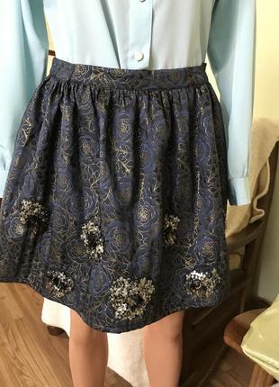 Красивая юбка на новый год