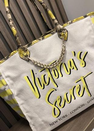 Оригинал! пляжная сумка victoria's secret виктория секрет