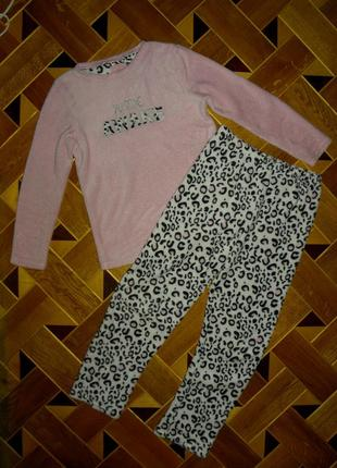 🌹мягусенькая,тёплая пижама из велсофта!без нюансов!!