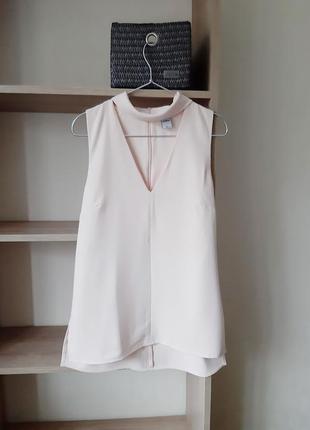 Блуза с чокером